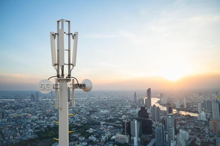 DISH Wireless 5G tower