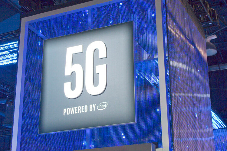 A vector of 5G powered by Intel