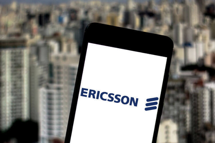 Ericsson on a smart phone