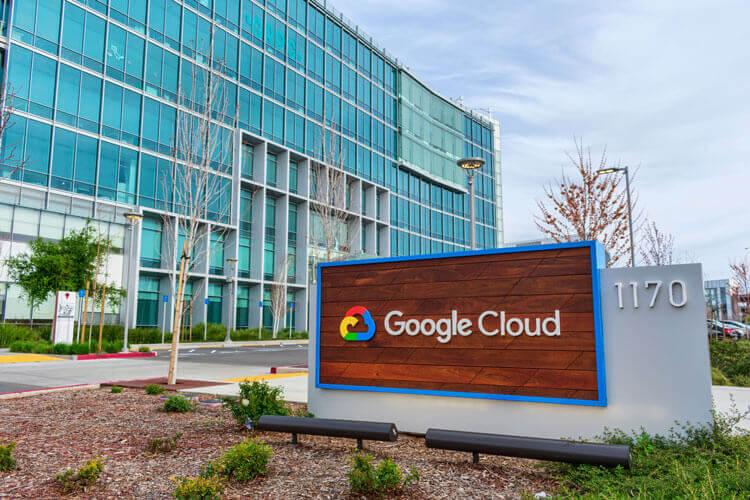 Google Cloud sign
