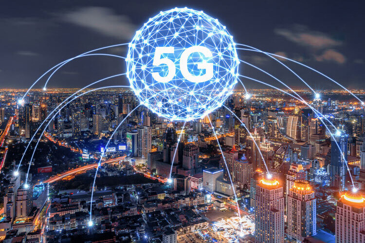 Vector of 5G carrier aggregation