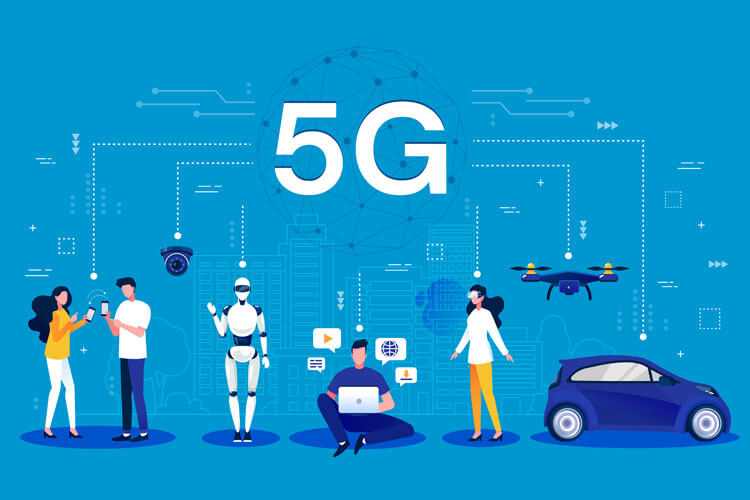 5G for Phones, Robots, Computers, Drones and Cars