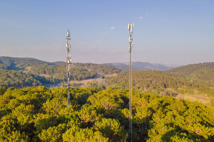 Rural 5G towers