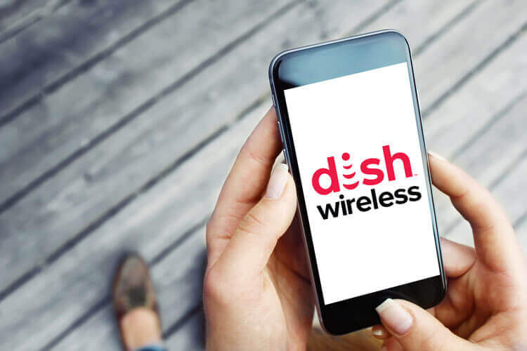 DISH Wireless on a 5G device