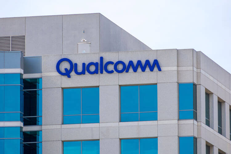 The outside of a Qualcomm building.