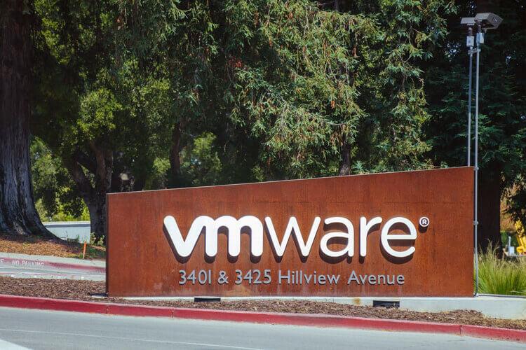 VMware entry sign