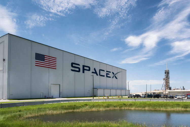 A SpaceX facility.