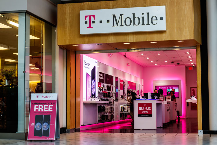 A T-Mobile store