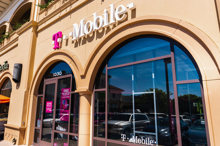 A T-Mobile storefront