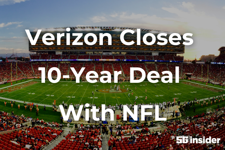 Verizon Closes 10-Year Deal With NFL