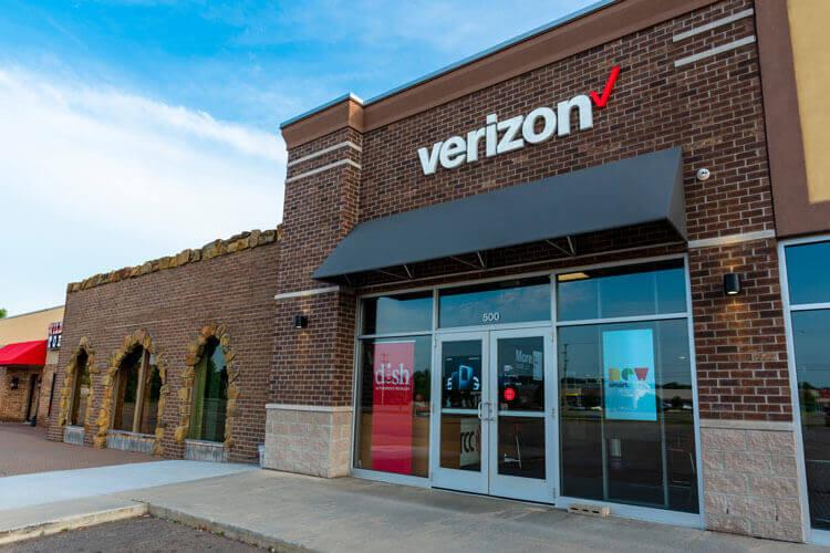 Verizon storefront