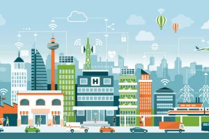 Smart City with 5G Technology
