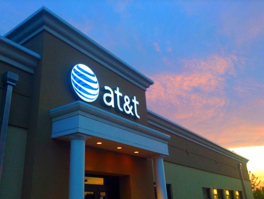 An AT&T storefront.